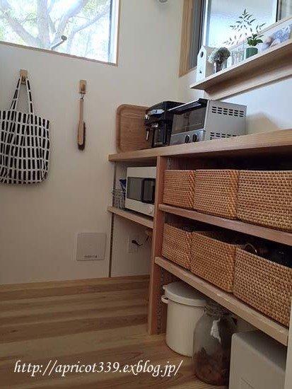キッチンカウンターの収納