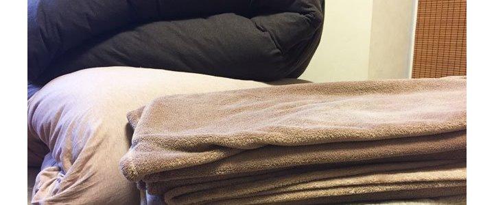 かさばってしまう寝具の収納