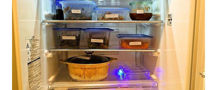 見渡せる、人に見せてもいい冷蔵庫の収納