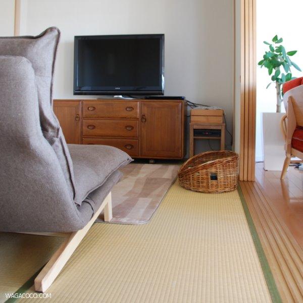 和室の模様替えAfter◇無印良品リクライニングソファ置きました【リラックス空間つくり】
