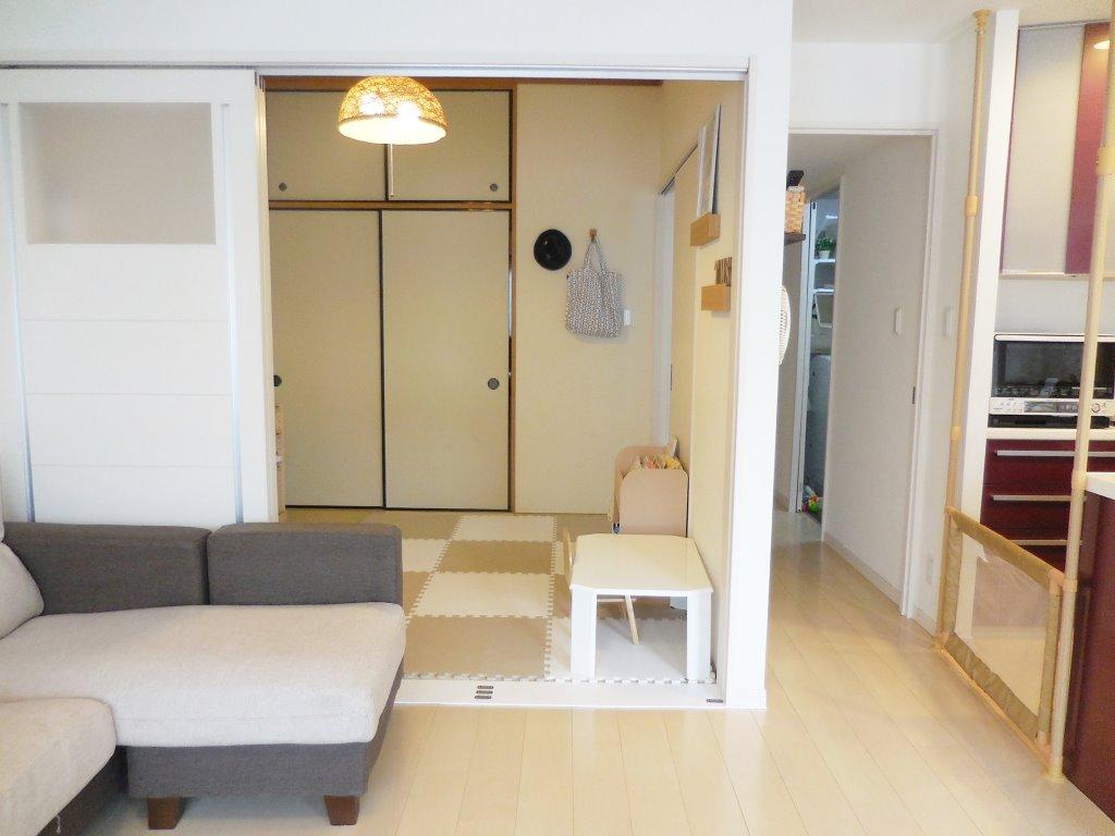 和室(子ども部屋)の模様替え