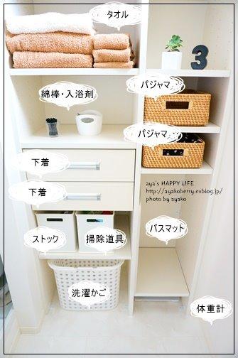 我が家の洗濯室・脱衣所