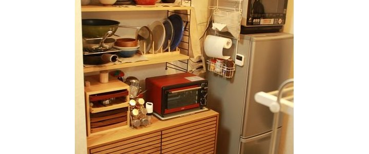 一人暮らしやマンション住まいのキッチン収納
