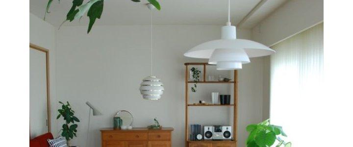 植物にかこまれて暮らす部屋